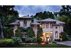 Italianate House Plan with 2873 Square Feet and 3 Bedrooms from Dream Home Source | House Plan Code DHSW10446