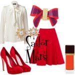 Sailor Mars - Polyvore