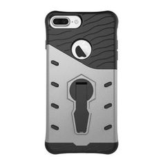 #GearBest - #Gearbest Wkae Tough Hybrid Heavy Duty Defender Dual Layer Armor Combo With 360 Degree Swivel Stand Cover Case for iPhone 7 Plus a - AdoreWe.com