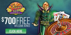 Vegas Slot Casino:  Claim your $700 free by making 5 deposits at the casino:      Make your first deposit for a 100% Bonus : get up to $100 FREE!     Make your second deposit for a 50% Bonus : get up to $150 FREE!     Make your third deposit for a 30% Bonus : get up to $150 FREE!     Make your fourth deposit for a 20% Bonus : get up to $100 FREE!     Make your fifth deposit for a 10% Bonus : get up to $200 FREE!