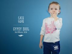 Cacu Guau. Moda infantil argentina. Colección Gypsy Soul, invierno 14