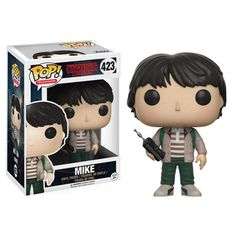 Stranger Things Mike with Walkie Talkie Pop! Vinyl Figure - Funko - Stranger Things - Pop! Vinyl Figures at Entertainment Earth