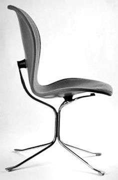 chair design for the Seattle World's Fair - 1962  Gideon A. Kramer (1917-2012)