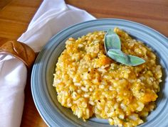 Slow Cooker Butternut Squash and Sage Risotto