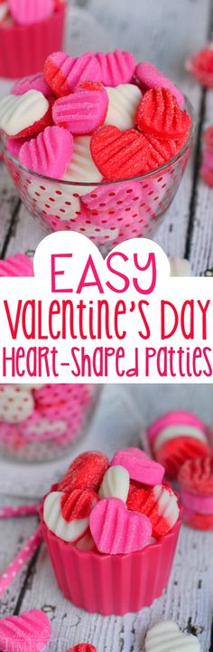 Celebrate the sweetness of Valentine's Day with these Easy Valentine's Day Patties - you choose the flavor!
