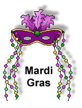 Graphic Design Mardi Gras