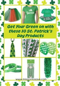 Get your green on with these 10 St. Fun tems to help you celebrate the luck of the Irish. Have A Great Day, You Got This, Hosting Thanksgiving, Vacation Memories, Luck Of The Irish, Holidays And Events, St Patricks Day, Celebrities, Green