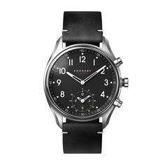 Kronaby Watch - Apex Stainless Black - Front