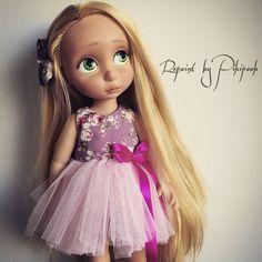 Rapunzel tangled repaint animator ooak doll raiponce poupee custo repeinte | by Alison Pikipook repaint ooak