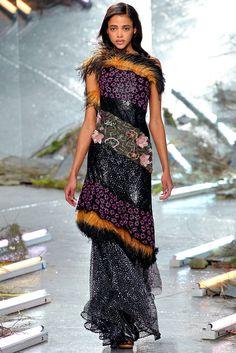 Rodarte Fall 2015 Ready-to-Wear Fashion Show - Aya Jones
