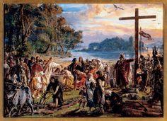 Chrzest Polski według Jana Matejki – historia Polski w malarstwie