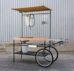 Mobile kitchen Q-CINA - Officine Tamborrino