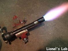 Propane furnace/forge burner