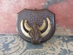 Vintage Antique French Oak Hunting Trophy / by SweetVintageDream