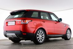 Used Land Rover Range Rover Sport SDV6 HSE Red for sale Essex DK63XYC | Saxton 4x4