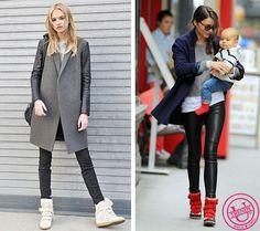 Кеды, кроссовки и сникерсы - любимая обувь уличных модниц?   Trendy-u.ru