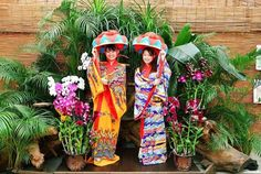 Traditional costume experience in Okinawa! ★Bios Hill #Nikon #D5 #japankuru #japan #cooljapan #okinawa #ryukyu #okinawaexperience