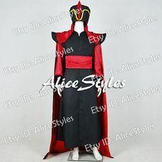 Magi Aladdin Jafar Villain Cosplay Costume Custom made in any size