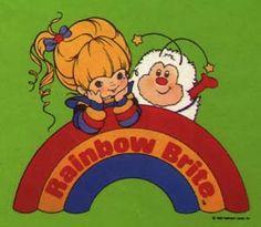 <3 Rainbow brite...