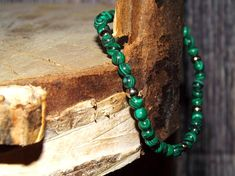 Malachite Bracelet Malachite Jewelry Malachite Beads Healing