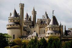 Château de Pierrefonds Picardie FRANCE | Le château de Pierr… | Flickr