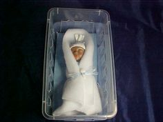'Comfort dolls': custom-made dolls in the likeness of an unborn baby lost through miscarriage or stillbirth.