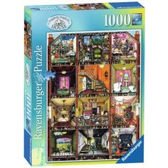 Ravensburger - Thompson's Higgledy Piggledy House 1000-piece Puzzle - Christmas Catalogue - Our Products - Entropy Australia  #entropywishlist #pintowin One of those perfect rainy day activities for the family :)