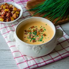 Wiener Schnitzel, Cheeseburger Chowder, Fondue, Cantaloupe, Food And Drink, Keto, Fruit, Cooking, Ethnic Recipes
