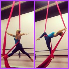 "49 Likes, 2 Comments - Kate Grow (@the_silk_storm) on Instagram: ""Working on that harp! It hurts so good! #aerialist #aerialsilks #aerialistsofig #circuseverydamnday…"""