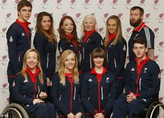 Hopefuls: The ParalympicsGB Alpine Skiing team will be hoping to pick up Great Britian's first ever gold medal