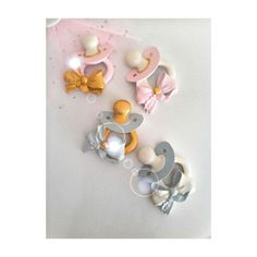 Baby favors with magnetic from polyester..