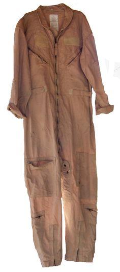 Vintage Flight Jumpsuit Kaki Mens CWU/27P which is by SanMonet, $85.00