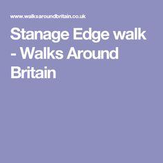 Stanage Edge walk - Walks Around Britain