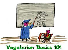 Vegetarian Basics 101--In response to the many e-mails we receive asking how to become a vegan, or how to begin a vegan regimen, we've prepared some basics to get you started. Far from complete, and not clinical in nature, this guide may help to answer the many questions that plague those new to the veggie world.