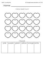 valentine heart graph