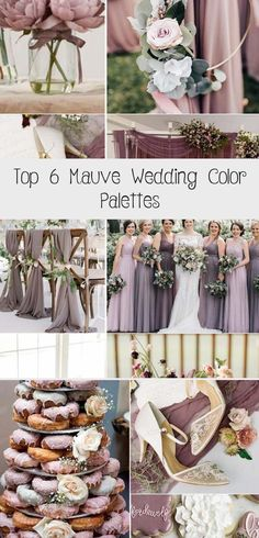 It's not Pantone's color of the year, but Mauve is definitely the lovely and stylish one in the whole purple family. It's more gentle and warm paired with plum, which makes it suitable for almost any wedding theme in any season. With the under... #BridesmaidDressesWinter #SatinBridesmaidDresses #BlackBridesmaidDresses #CheapBridesmaidDresses #AfricanBridesmaidDresses