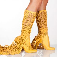 """Remember the line """"Ginger Rogers did everything that Fred Astaire did, but backwards and in high heels""""?  She wasn't wearing these.      3d printing shoes"""