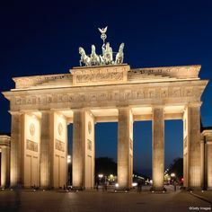 The Brandenburg Gate, Berlin, Germany. I guarded Pres. Reagan and was her when the wall came down!