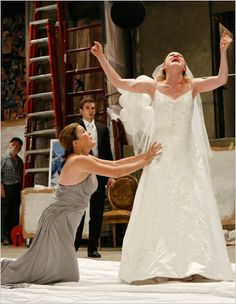 Iphigenia 2.0 by Charles Mee, directed by Tina Landau, starring Kate Mulgrew. Signature Theatre Company NYC, 2007