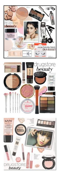 """Winners for Beauty on a Budget: Drugstore Beauty"" by polyvore ❤ liked on Polyvore featuring beauty, Essence, L'Oréal Paris, Rimmel, Benefit, eylure, Maybelline, Bobbi Brown Cosmetics, drugstorebeauty and everydaybeauty"
