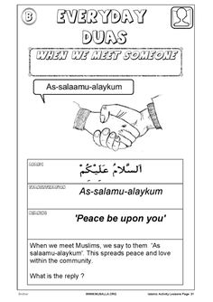Islamic Activity Book for Kids (Full & 2 Combined pdf) 2nd Grade Reading Worksheets, Worksheets For Kids, Ramadan Activities, Activities For Kids, Ramadan Crafts, Sunday School Classroom, Islam For Kids, Teaching Schools, Learn Islam