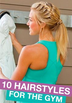 Hair Inspiration For Your Next Workout From Hair Expert Johnny Lavoy - Coiffure 03 Volleyball Hairstyles, Workout Hairstyles, Chic Hairstyles, Pretty Hairstyles, Braided Hairstyles, Sport Hairstyles, Hairstyles For Working Out, Active Hairstyles, Track Hairstyles