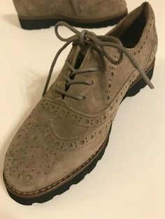 7abc1588a Earthies Women s Shoe Santana Wingtip Oxford Lace Up - Size 6.5 NEW   fashion  clothing