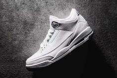 """A Closer Look at the Air Jordan 3 """"Pure White"""""""