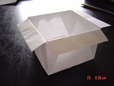 Origami baking container?