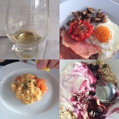 @glengoynedistillery @mhorfood #worldwhiskyday - my kind of #breakfast !