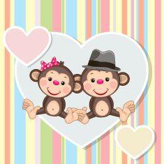 Monkey Tattoos, Monkey Business, Animal Wallpaper, Portfolio, Animals And Pets, Decoupage, Hello Kitty, Illustration, Softies