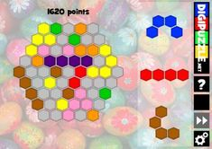 Hex Puzzle - Easter | Digipuzzle.net Easter Games, Puzzle, Puzzles, Puzzle Games, Riddles