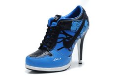 2012 New Arrival heels Womens low top Blue 1         Jordan company has release its New Arrival high heels for young girls with hot style ,with several colors that are white black red blue and so on , we can supply US size 5.5 9.5 that is  EUR 36 - 41, all are perfect new ones .