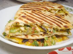 The tastes of summer are terrific in this quick fix meal. You do NOT need a panini press for this sandwich.